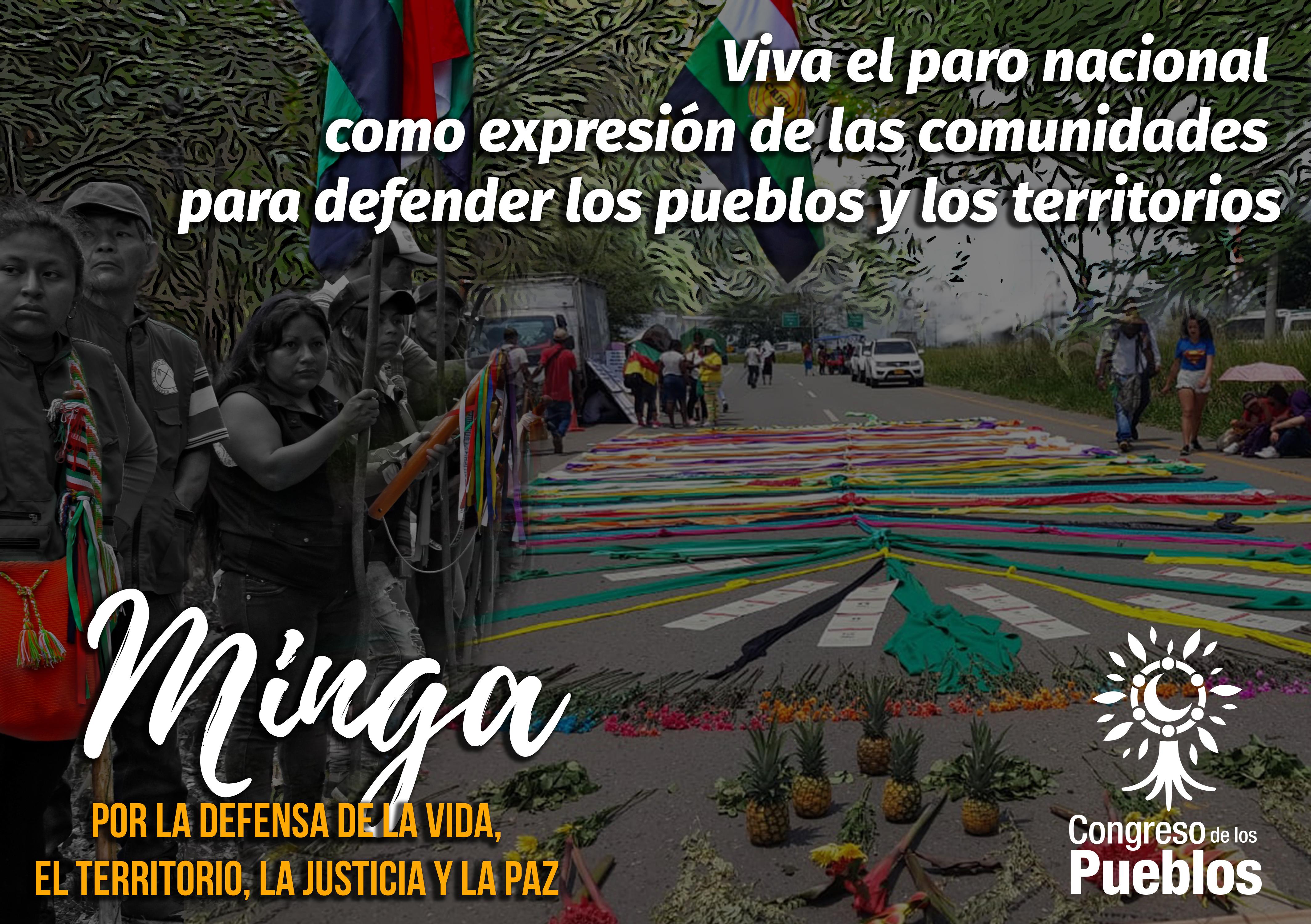 [Comunicado] Solidaridad con la Minga
